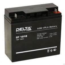 Аккумулятор Delta DT 1218 (12В/18Ач)