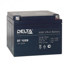 Аккумулятор Delta DT 1226 (12В/26Ач)