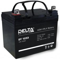 Аккумулятор Delta DT 1233 (12В/33Ач)