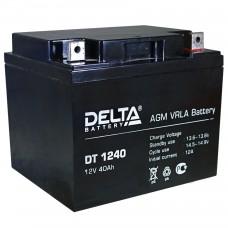 Аккумулятор Delta DT 1240 (12В/40Ач)
