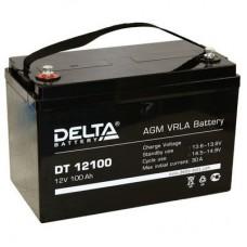 Аккумулятор Delta DT 12100 (12В/100Ач)