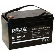 Аккумулятор Delta DT 12120 (12В/120Ач)