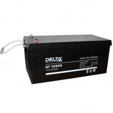 Аккумулятор Delta DT 12200 (12В/200Ач)