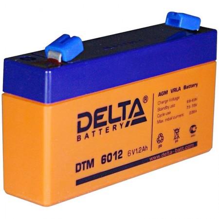 Аккумулятор Delta DTM 6012 (6В/1.2Ач)