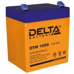 Аккумулятор Delta DTM 1205 (12В/5Ач)
