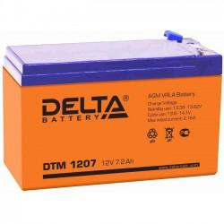 Аккумулятор Delta DTM 1207 (12В/7Ач)
