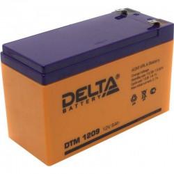 Аккумулятор Delta DTM 1209 (12В/9Ач)