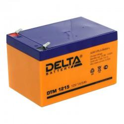 Аккумулятор Delta DTM 1215 (12В/14,5Ач)