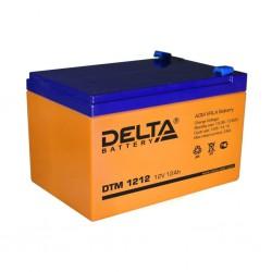 Аккумулятор Delta DTM 1212 (12В/12Ач)