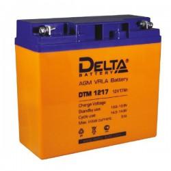 Аккумулятор Delta DTM 1217 (12В/17Ач)