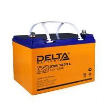 Аккумулятор Delta DTM 1233L (12В/33Ач)