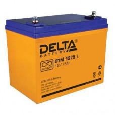Аккумулятор Delta DTM 1275L (12В/75Ач)