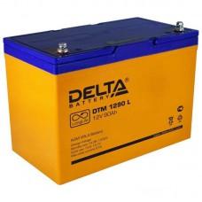 Аккумулятор Delta DTM 1290L (12В/90Ач)