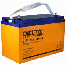 Аккумулятор Delta DTM 12100L (12В/100Ач)