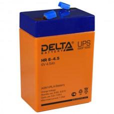 Аккумулятор Delta HR 6-4.5 (6В/4.5Ач)