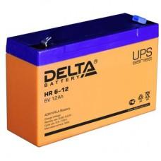 Аккумулятор Delta HR 6-12 (6В/12Ач)