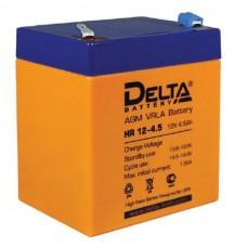 Аккумулятор Delta HR 12-4.5 (12В/4.5Ач)