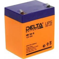 Аккумулятор Delta HR 12-5 (12В/5Ач)