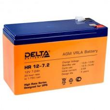 Аккумулятор Delta HR 12-7.2 (12В/7.2Ач)