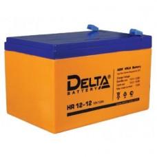 Аккумулятор Delta HR 12-12 (12В/12Ач)