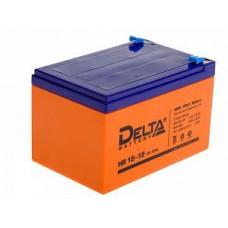 Аккумулятор Delta HR 12-15 (12В/15Ач)