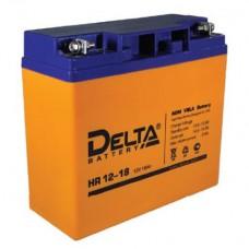 Аккумулятор Delta HR 12-18 (12В/18Ач)