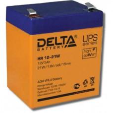Аккумулятор Delta HR 12-21W (12В/5Ач)