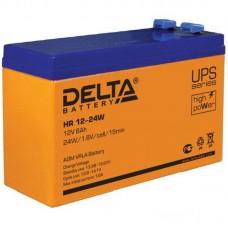 Аккумулятор Delta HR 12-24W (12В/6Ач)