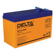Аккумулятор Delta HR 12-28W (12В/7Ач)