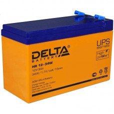 Аккумулятор Delta HR 12-34W (12В/9Ач)