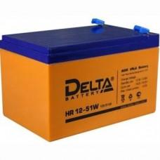 Аккумулятор Delta HR 12-51W (12В/12Ач)
