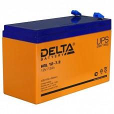 Аккумулятор Delta HRL 12-7.2 (12В/7.2Ач)