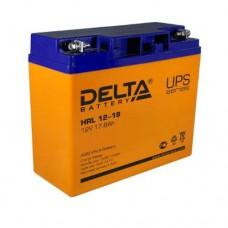 Аккумулятор Delta HRL 12-18 (12В/17,8Ач)