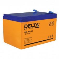 Аккумулятор Delta HRL 12-12 (12В/12Ач)