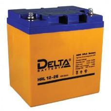 Аккумулятор Delta HRL 12-26 (12В/28Ач)