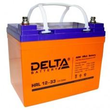 Аккумулятор Delta HRL 12-33 (12В/33Ач)