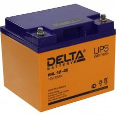 Аккумулятор Delta HRL 12-45 (12В/45Ач)
