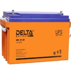 Аккумулятор Delta HRL 12-80 (12В/80Ач)
