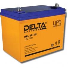 Аккумулятор Delta HRL 12-75 (12В/75Ач)
