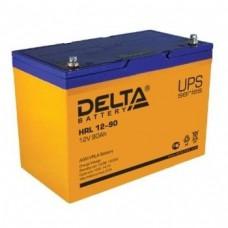 Аккумулятор Delta HRL 12-90 (12В/90Ач)