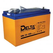 Аккумулятор Delta HRL 12-100 (12В/100Ач)