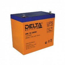 Аккумулятор Delta HRL 12-260W (12В/55Ач)