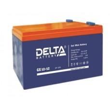 Аккумулятор Delta GX 12-12 (12В/12Ач)