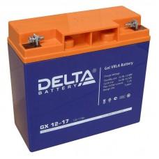 Аккумулятор Delta GX 12-17 (12В/17Ач)