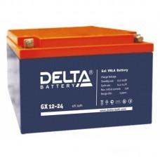 Аккумулятор Delta GX 12-24 (12В/24Ач)