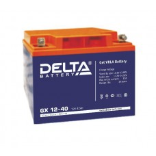 Аккумулятор Delta GX 12-40 (12В/40Ач)