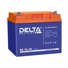 Аккумулятор Delta GX 12-45 (12В/45Ач)