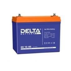 Аккумулятор Delta GX 12-60 (12В/60Ач)