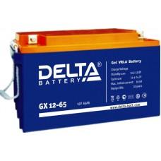 Аккумулятор Delta GX 12-65 (12В/65Ач)