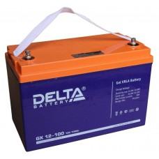 Аккумулятор Delta GX 12-100 (12В/100Ач)